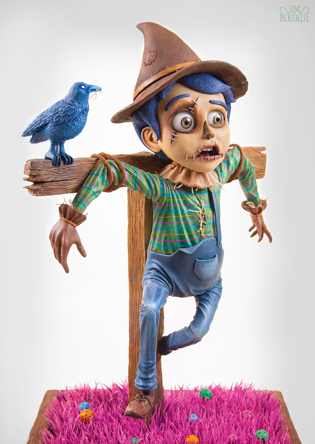 """the scarecrow The scarecrow - praising novel the scarecrow, one critic argued that author  ronald hugh morrieson had melded genres together into """"a brilliant,  hallucinatory."""